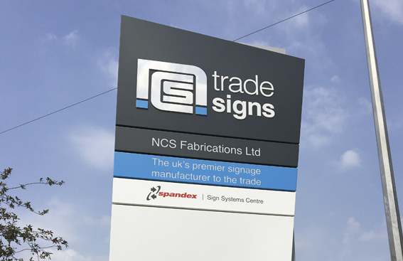 NCS Trade Signs - Flexibility and Responsiveness - Signage