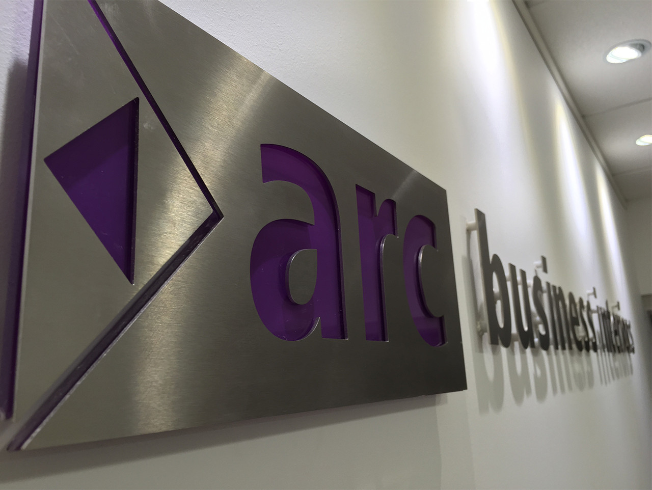 Arc Business Lettering Signage