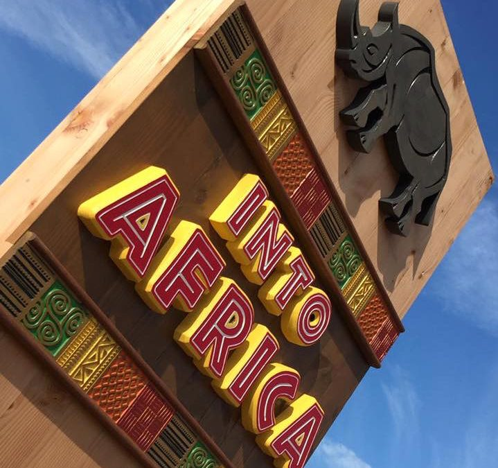 NCS Trade Signs - Bespoke Signage - Into Africa Sign